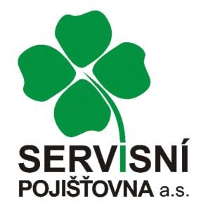 Logo Servisní pojišťovna, a.s.