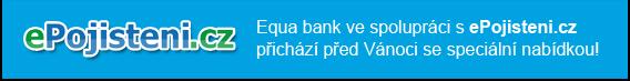 ePojisteni.cz - Equa bank ve spolupráci s ePojisteni.cz přichází před Vánoci se speciální nabídkou!