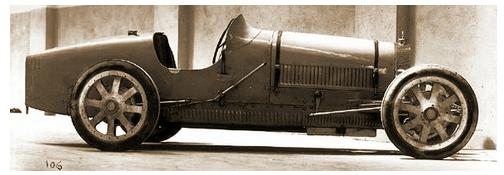 Bugatti slavné závodnice Elišky Junkové